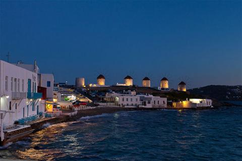 Жемчужина Греции - остров Миконос