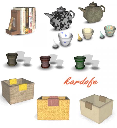 Полки и декор от kardofe