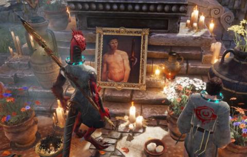 Игрок убил босса в Divinity: Original Sin II с помощью его портретов