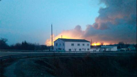 СМИ сообщили о взрыве фосфор…