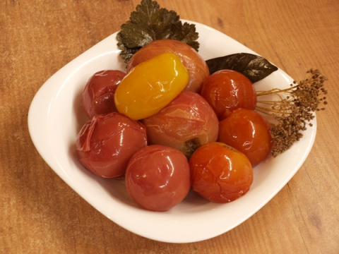 Квашеные помидоры