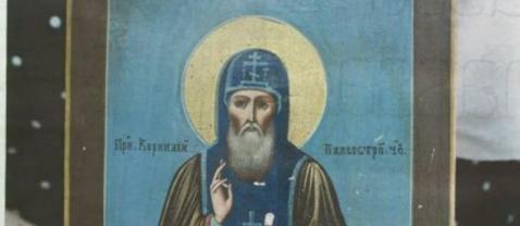 В Финляндии в опилках нашли редкую икону карельского святого