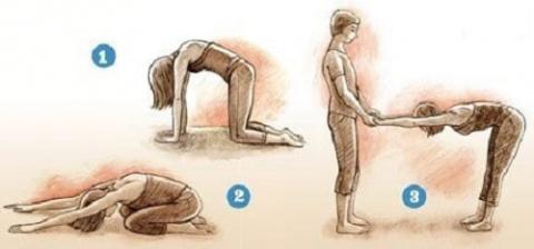 С этим комплексом упражнений…