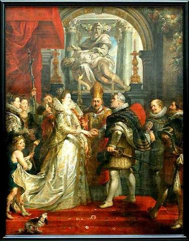 Ночь без подготовки. Генрих IV и Мария Медичи