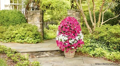 Цветочная башня для сада