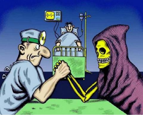 Злой медик - усталые истории...