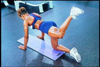 Домашнее задание для мышц заднего бедра.