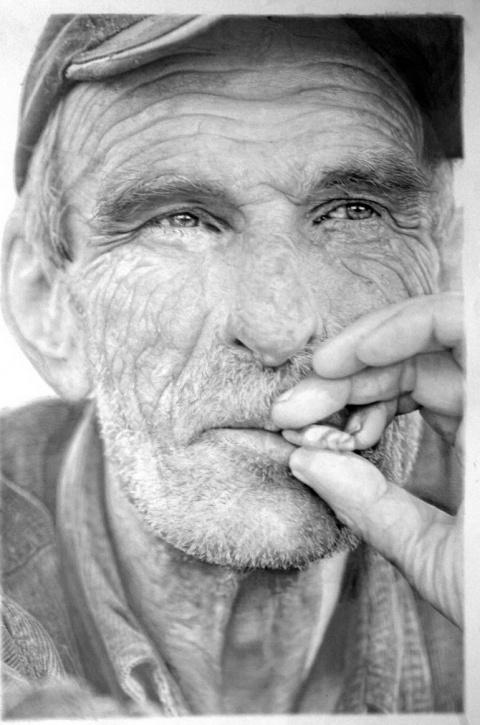 Гиперреалистичные рисунки Пола Кэддена