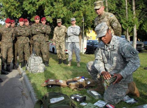 Войска НАТО ввели войска  на Украину.