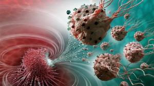 Нанороботы разрушают раковые клетки