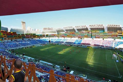 Фанаты разъехались, а стадионы остались...