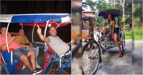 Только велорикша может быть лучше велосипеда!