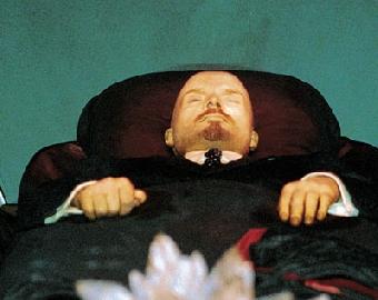 В борьбе за тело Ленина.