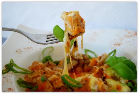 Филе морского окуня в овощно…