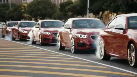Дрифтмоб от BMW завоевывает интернет