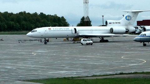 Ту-154М авиакомпании «Татарс…