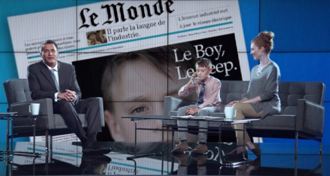 General Electric сняла фильм о мальчике-повелителе машин