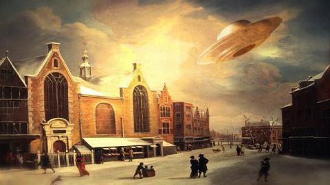 НЛО в исторических хрониках