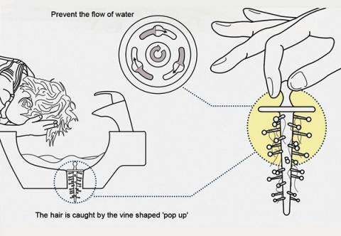 Ловушка для волос