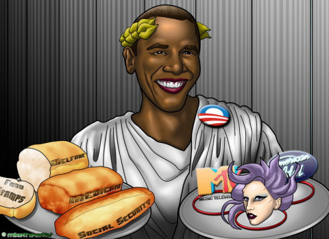 Хлеба и зрелищ на крови – закат американской империи