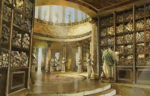 Александрийская библиотека: античная сокровищница мудрости, уничтоженная по человеческой глупости