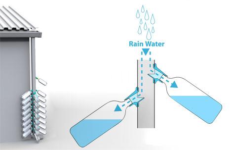 Система сбора дождевой воды Rain Drops