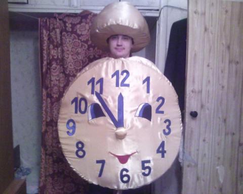 Костюм часы на новый год