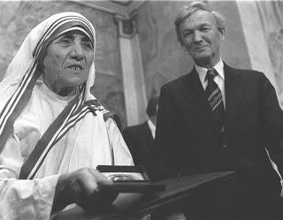 Речь Матери Терезы на вручен…