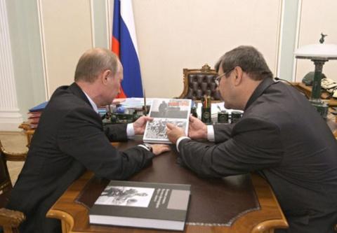 Архивная бомба Путина. Александр Ростовцев