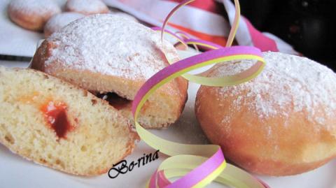 Крапфен или Берлинеры (Krapfen, Berliner) - карнавальные пончики