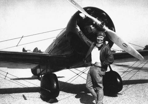 Отчаянная Панчо Барнс — - легендарная летчица «Золотого Века авиации»