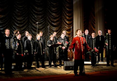 Во Франции с аншлагом проходят концерты хора Валаамского монастыря