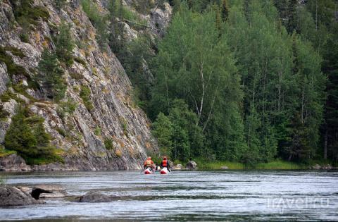 Сплав по реке Умбе на Кольск…