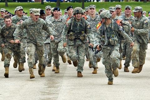 Первые 250 солдат США прибыл…