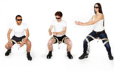 Это не мираж, это - невидимый стул