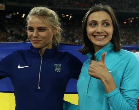 Украинская прыгунья завернул…