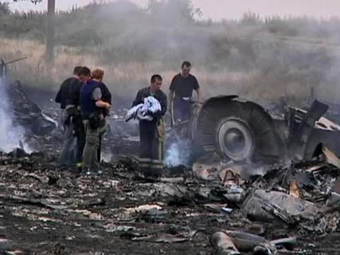 Авиакатастрофа малазийского Боинга. Судя по всему, самолёт НЕ СОВСЕМ НАСТОЯЩИЙ...