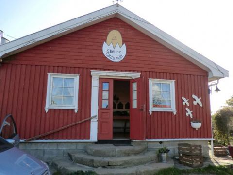 Магазин без продавца в Норвегии