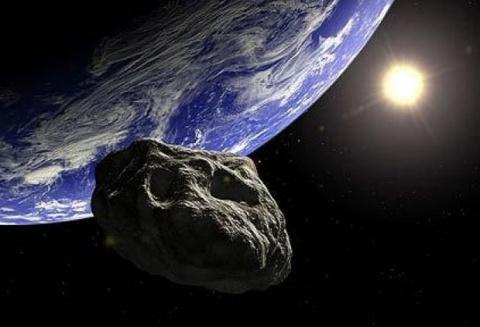 Гигантский астероид пролетит…