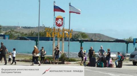 Поставки газа в Крым с матер…