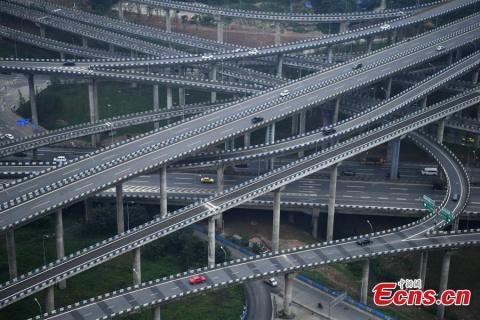 В Китае построили пятиуровне…