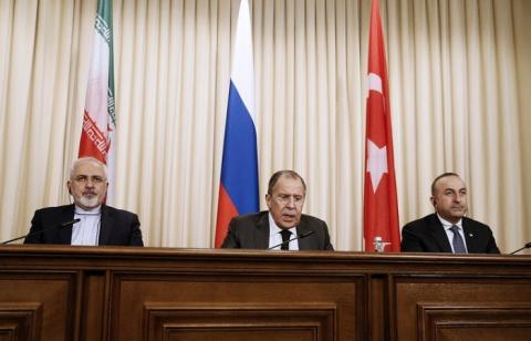 «Тройка» отсекла США от Ближнего Востока