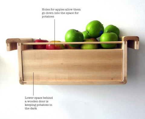 Храните продукты подальше от холодильника
