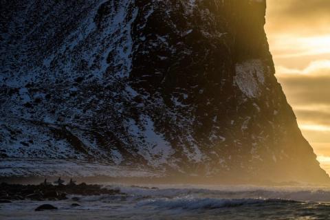 Суровый арктический норвежск…
