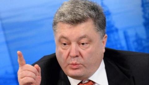 Порошенко: Российские танки вторглись на Украину