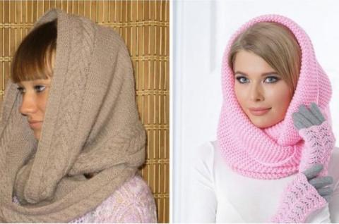 Как связать модный шарф снуд…