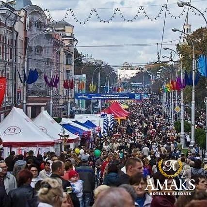Тариф «Любимый город» гомельского «AMAKS Визит-отеля»