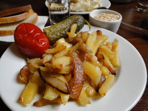 Жареная картошка «По-особенному»