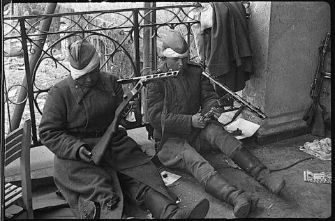 Берлин 1945 года в объективе…
