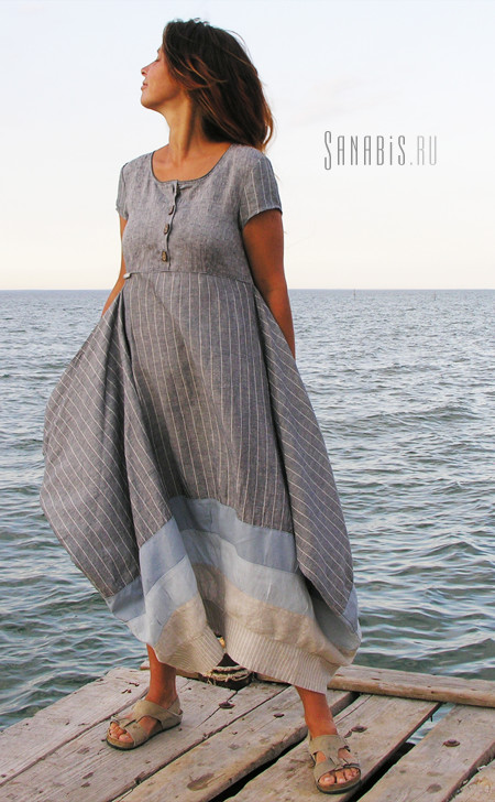 Одежда в стиле бохо от Sanabis